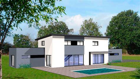 plan interieur de maison contemporaine images