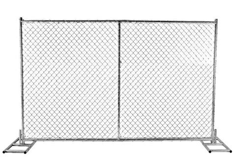 chain link panels australian temporary fencing  mm