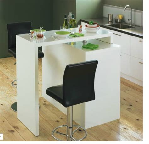 table cuisine modulable table de bar modulable