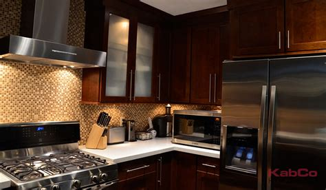 kitchen backsplash lighting java kabco kitchens 2226