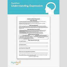 Understanding Depression Worksheet Psychpoint
