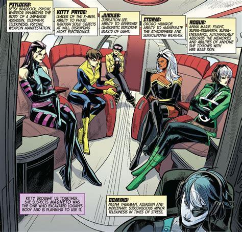 marvel comic books xmen