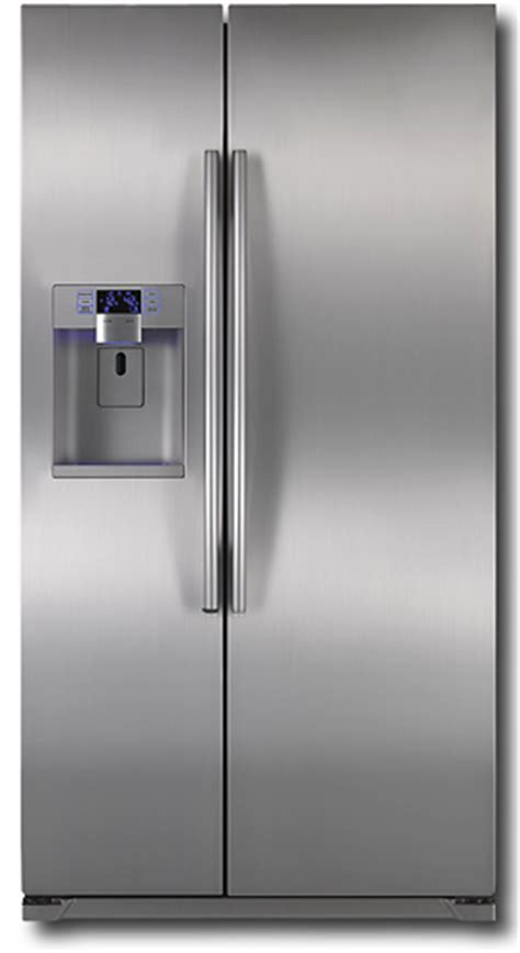 Samsung Cabinet Depth Refrigerator by Review Samsung Rsg257aars Counter Depth Refrigerator