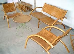 Canapé En Bambou : salon de jardin en bambou crit res de choix et prix ooreka ~ Melissatoandfro.com Idées de Décoration