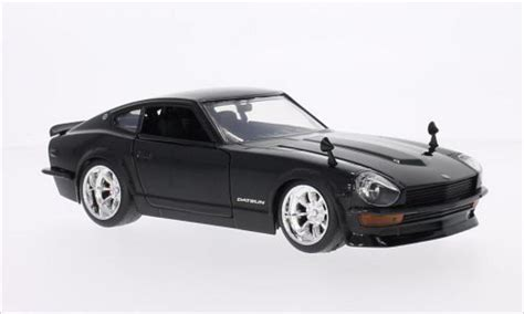 Black Datsun by Datsun 240z Tuning Black 1972 Toys Diecast Model Car