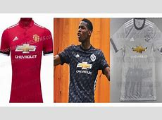 Manchester United Jersey 20172018 Home Away and Third