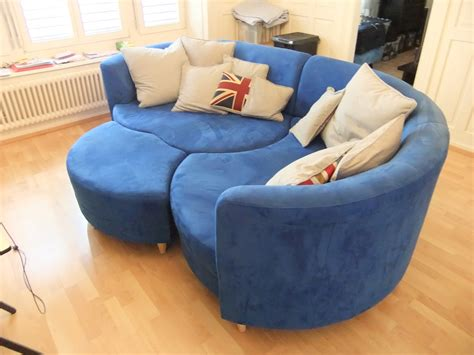 Blue Sofas For Sale by Moving Sale