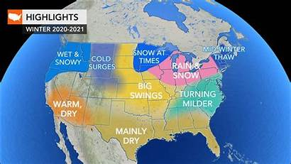 Weather Winter Forecast Accuweather Snow Storm Cold