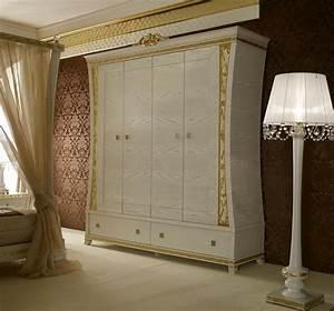 Kleiderschrank 4 Türen : kleiderschrank mit 4 t ren mit griffen aus edelsteinen idfdesign ~ Markanthonyermac.com Haus und Dekorationen