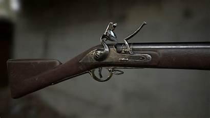 Musket Bess Brown 3d Obj Weapon Turbosquid