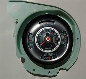 Tachometer  U0026 Dash Gauge 69 Chevy Chevelle Malibu El Camino