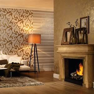 marburg rae scroll damask pattern wallpaper embossed With markise balkon mit marburg tapeten 3d