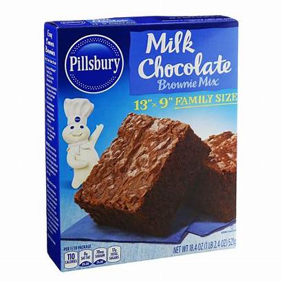 Pillsbury Brownie Mix Chocolate Milk Fudge Plus