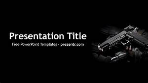 Free Weapon Powerpoint Template