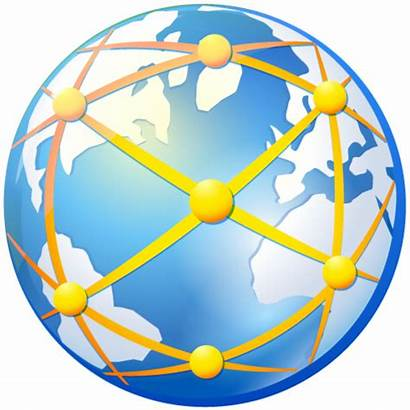 Web Connection Internet Icon Globe Connections Global