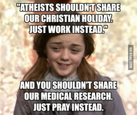 Atheist Vs Christian Meme - hypocrisy buddhists the christmas and best quotes