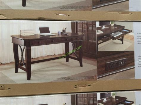 bayside furnishings 60 writing desk costco 731466 bayside furnishings 60 writing desk pic
