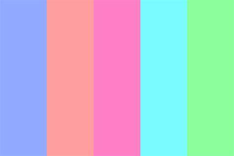 bright colors color palette