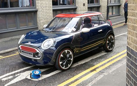 Electric Rocketman From Bmw Mini Is Being Considered  Gas 2