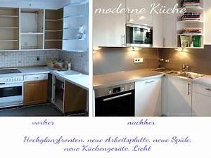Alte Küche Renovieren : alte k che neue fronten ~ Lizthompson.info Haus und Dekorationen