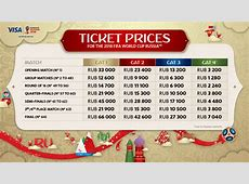2018 FIFA World Cup Russia™ Ticket Prices FIFAcom