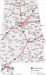 Map Of Alabama And Georgia Together