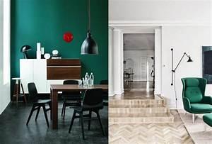 30 inspirations pour une deco en vert fonce joli place for Couleur tendance pour salon 18 inspirations deco en vert fonce joli place
