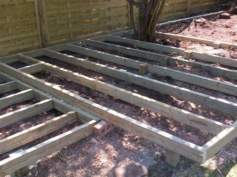 decking joists bentinck fencing