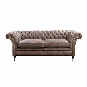 Leather Sofa Chesterfield Adorable Leather Chesterfield