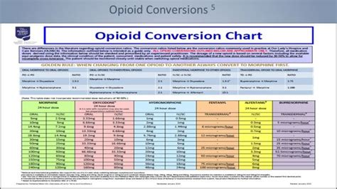 narcotic conversion table pdf doc 712511 opioid conversion chart 7 opioid conversion