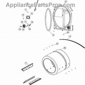 Parts For Maytag Mcg8000aww  Cylinder  U0026 Rear Bulkhead