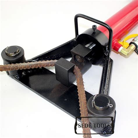 hydraulic rebar bender  hand held rebar bending machine  mm  bending rebar steel bar