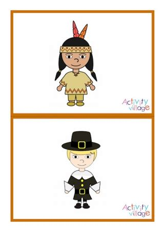 Thanksgiving Flashcards Small