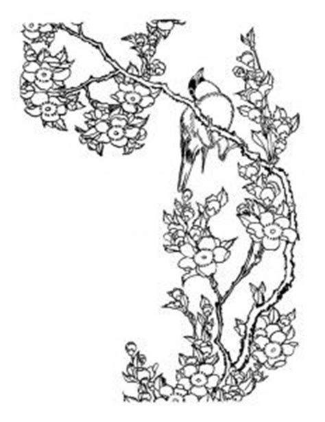Japanese Cherry Blossoms Drawing at GetDrawings | Free