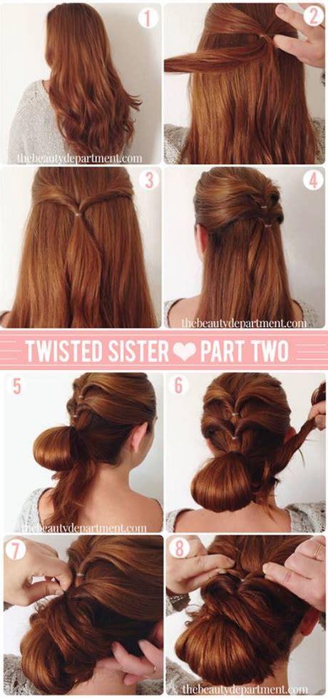 hairstyles step  step