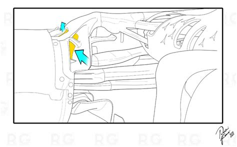Sky sports f1 reporter ted kravitz explains how the controversial technical enhancements used by the mercedes team works. Circus F1, Tecnica: La Brake Duct della Mercedes W11 ...