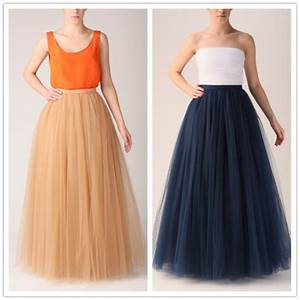 long skirt long skirt and fashion long tulle prom dress With how to make a long tulle skirt for wedding dress
