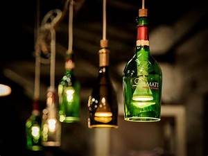 Flasche Mit Lichterkette : die besten 25 lampe aus flaschen ideen auf pinterest ~ Lizthompson.info Haus und Dekorationen