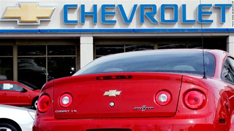 Gm Recalls 778,000 Cars For Faulty Ignition