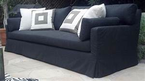 custom outdoor slipcover sofa by heaven antique and custom With custom made sectional sofa covers