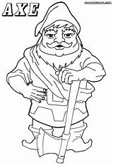 Axe Coloring Pages Axe2 Coloringway 17kb 1000px sketch template