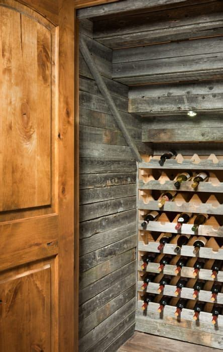 airdrie alberta timber frame home wine cellar