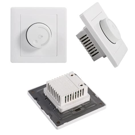 1 gang 1 way rotary wall dimmer control for ls led
