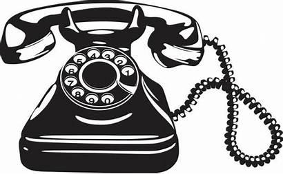 Telephone Vector Clip Phone Antique Phones Illustrations