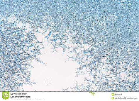 ice crystals   window stock image image  macro