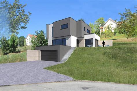 maison bois sur terrain en pente maison terrain en pente maison bois et bois