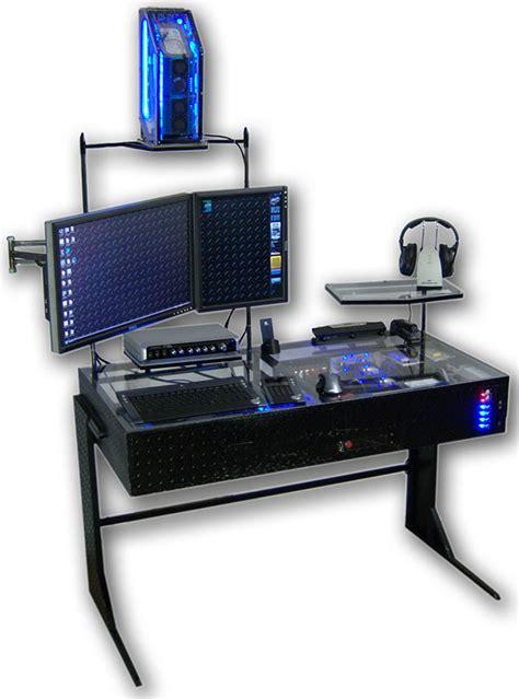 The Desk by The Desk Casemod A Desktoptobottom Computer Technabob