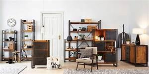Industrie Loft Möbel : industrielle einrichtung f r junges wohnen design m bel ~ Sanjose-hotels-ca.com Haus und Dekorationen