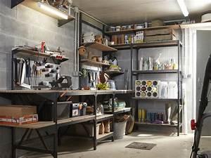 Idée Rangement Garage : organiser l 39 espace rangement dans son garage leroy merlin ~ Melissatoandfro.com Idées de Décoration