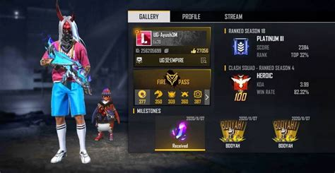 Free fire's rules of the game allow friendly players to give each other gifts or give and receive rewards. UnGraduate: Real name, country, Free Fire ID, stats, and more